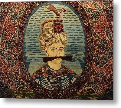 Iran King Abbas Carpet Museum Tehran Metal Print by Lois Ivancin Tavaf