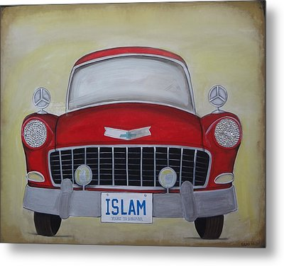 Islam Yours To Discover Metal Print by Salwa  Najm