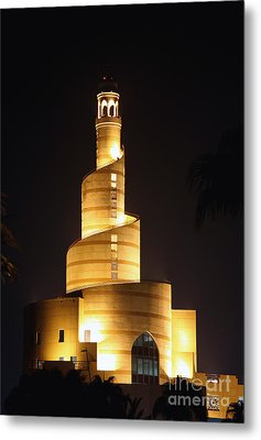 Islamic Centre  Doha Metal Print by Paul Cowan