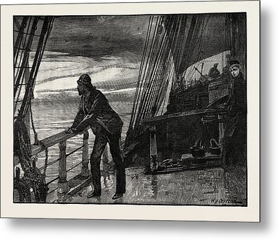 It Seemed An Eternity Ere The Cold Grey Of Dawn Hovered Metal Print