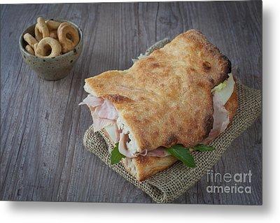 Italian Sandwich Metal Print by Sabino Parente