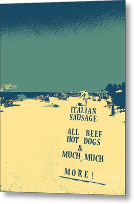 Metal Print featuring the digital art Italian Sausage by Valerie Reeves