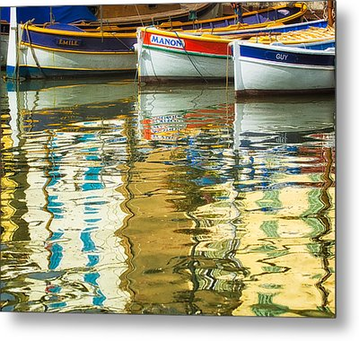 Italian Trio Metal Print by Joan Herwig