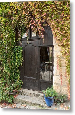 Metal Print featuring the photograph Ivy Covered Doorway by Paul Topp