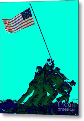 Iwo Jima 20130210m128 Metal Print by Wingsdomain Art and Photography