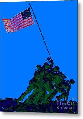 Iwo Jima 20130210m88 Metal Print by Wingsdomain Art and Photography