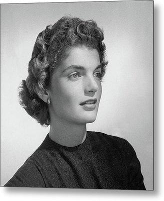 Jacqueline Kennedy Onassis Metal Print