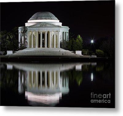 Jefferson Reflections Metal Print