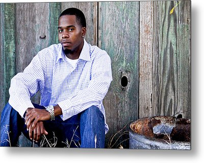 Jermaine_1 Metal Print by Ivete Basso Photography