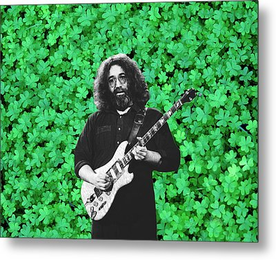 Metal Print featuring the photograph Jerry Clover 1 by Ben Upham