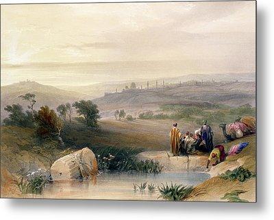 Jerusalem, April 1839 Metal Print by David Roberts