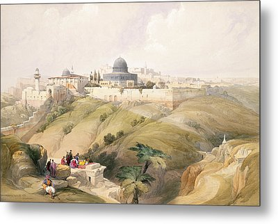 Jerusalem, April 9th 1839, Plate 16 Metal Print