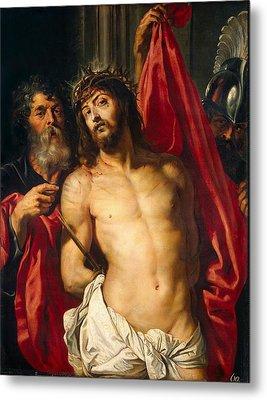 Jesus Christ Metal Print by Peter Paul Rubens