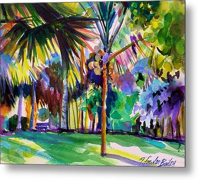 Jewel Tones From Hawaii Metal Print by Therese Fowler-Bailey