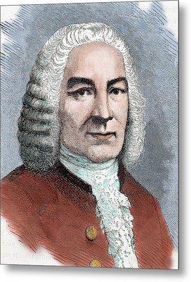 Johann Sebastian Bach (eisenach Metal Print