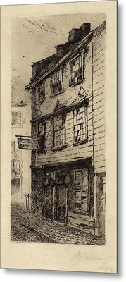 John Mackie Falconer, 78 Cross Street, Boston Metal Print by Quint Lox