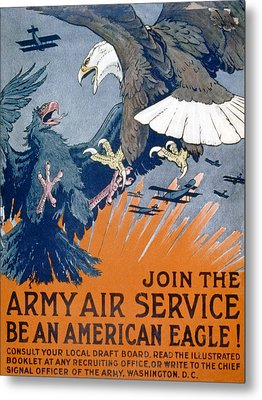 Join The Army Air Service, Be An Metal Print