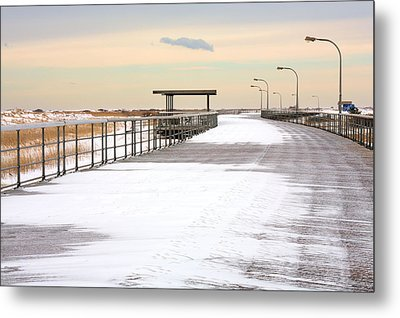 Just Another Boardwalk Metal Print by JC Findley