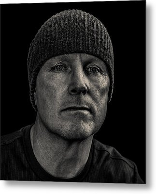 Just Me Metal Print by Randy Turnbow