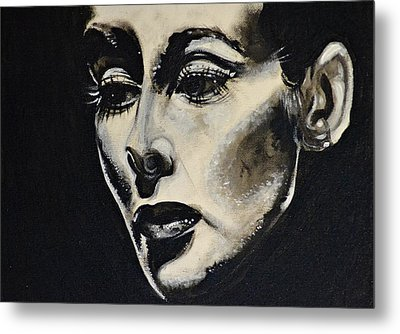 Metal Print featuring the painting Katherine by Sandro Ramani