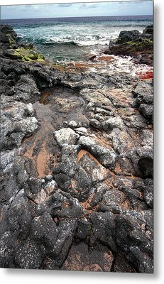 Kauai Seascape II Metal Print by Maxwell Amaro
