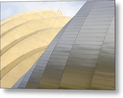 Kauffman Center For Performing Arts Metal Print by Mike McGlothlen