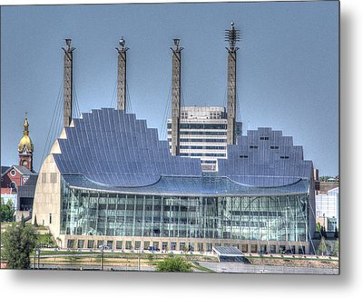 Kauffman Performing Arts Center Metal Print