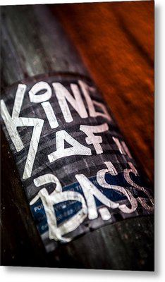 Metal Print featuring the photograph King Of Bass by Sennie Pierson
