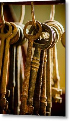 Kingdom Keys Metal Print
