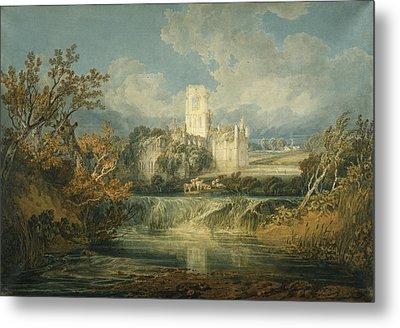 Kirkstall Abbey, Yorkshire, 1797 Metal Print