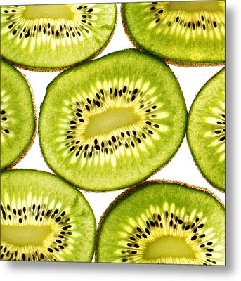 Kiwi Fruit IIi Metal Print
