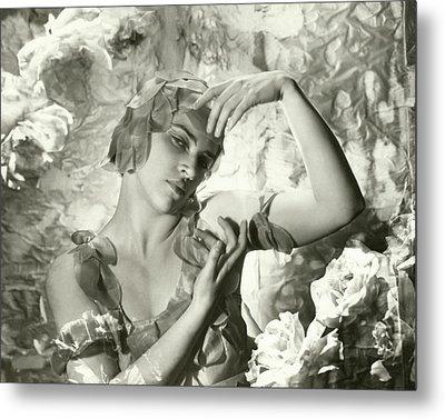 Kyra Nijinsky In Le Spectre De La Rose Metal Print by Cecil Beaton