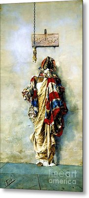 La Ladrona Metal Print by Pg Reproductions