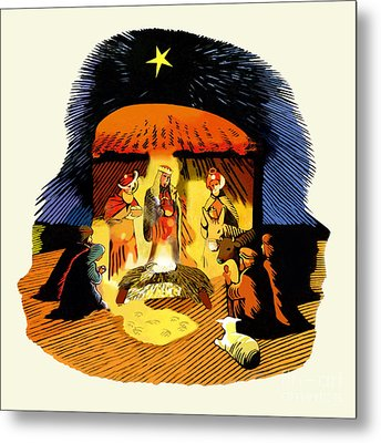 La Natividad Metal Print by Roger Kohn