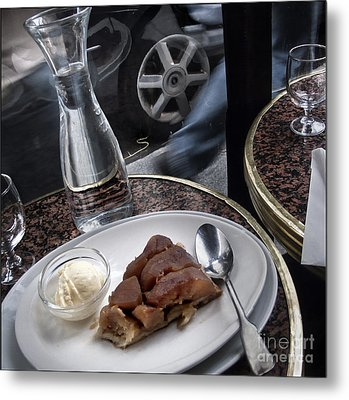 Metal Print featuring the photograph La Tarte A Grande Vitesse. by Michel Verhoef