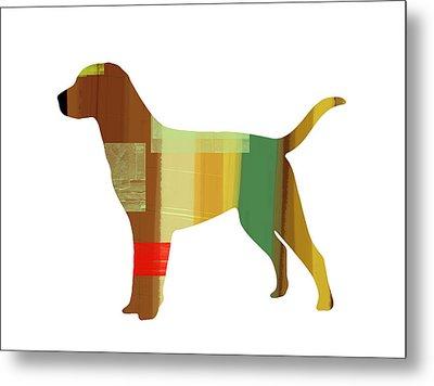 Labrador Retriever Metal Print by Naxart Studio