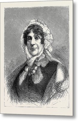 Lady Smith Of Lowestoft At The Age Of 94 Metal Print by English School