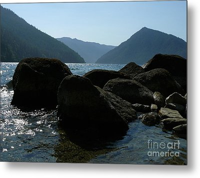 Metal Print featuring the photograph Lake Crescent by Jane Ford