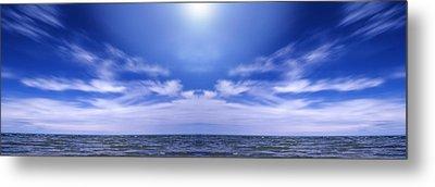 Lake Huron And Sky Metal Print by Vast Photography