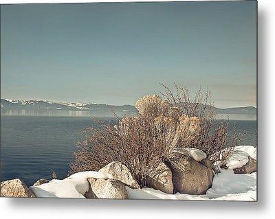 Lake Tahoe Winter Metal Print by Kim Hojnacki