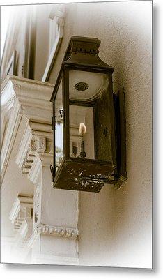 Metal Print featuring the photograph Lamp Unto My Feet by Sennie Pierson