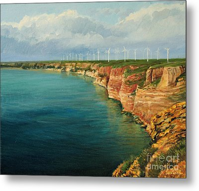 Land Of The Winds Metal Print by Kiril Stanchev