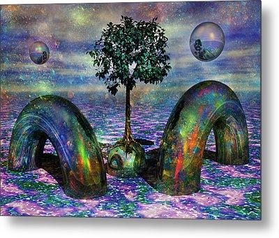 Land Of World 8624028 Metal Print by Betsy Knapp