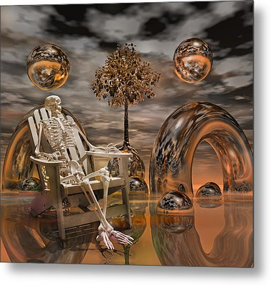 Land Of World 86240440 With Sam Metal Print