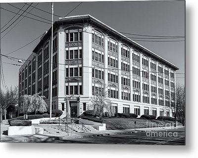 Landmark Life Savers Building II Metal Print by Clarence Holmes
