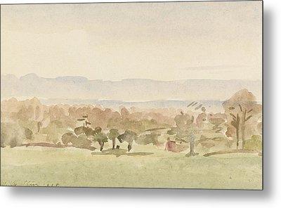 Landscape, Possibly Framlingham, Suffolk Metal Print by Philip Wilson Steer