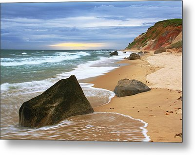 Last Light Before The Storm Metal Print by Roupen  Baker