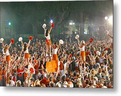 Last University Of Texas Hex Rally Metal Print
