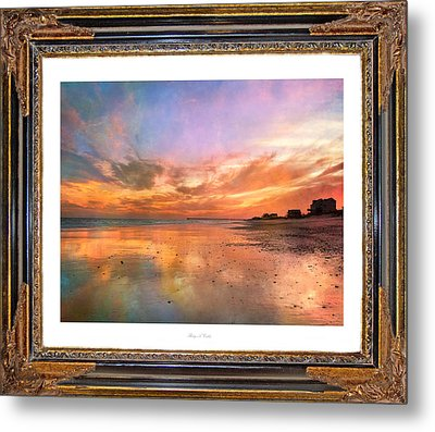 Lasting Moments Metal Print by Betsy Knapp