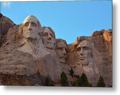 Late Afternoon, Mount Rushmore National Metal Print